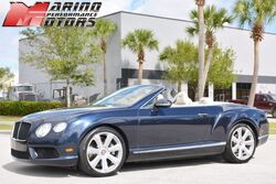 Bentley Continental GTC V8 Convertible 2013
