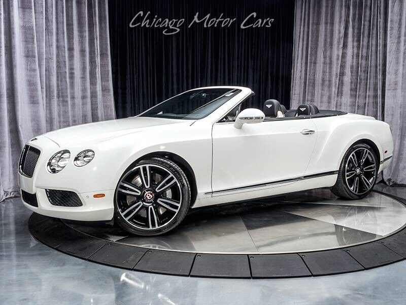 2013_Bentley_Continental GTC V8 Mulliner_Convertible_ Chicago IL