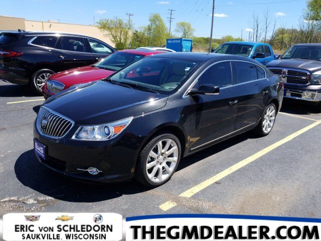 2013 Buick LaCrosse Touring FWD 3.6L w/Sunroof Nav 19s HtdCldMemLthr IntelliLink RearCamera Milwaukee WI