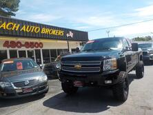 CHEVROLET SILVERADO SILVERADO 1500 LT Z71 4X4, AUTOCHECK CERTIFIED, EXTENDED CAB, 1 OWNER, LOW MILES, LIFTED, NICE! 2013