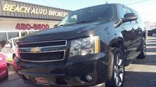 CHEVROLET SUBURBAN LT 4X4, CARFAX CERTIFIED, 3RD ROW, SAT, NAV, DVD, SUNROOF, BLUETOOTH, BACKUP CAM, ONE OWNER! 2013