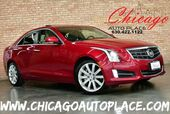 2013 Cadillac ATS Premium AWD - 3.6L V6 VVT ENGINE 1 OWNER ALL WHEEL DRIVE NAVIGATION BACKUP CAMERA HEADS-UP DISPLAY KEYLESS GO GRAY LEATHER HEATED SEATS BOSE AUDIO SUNROOF