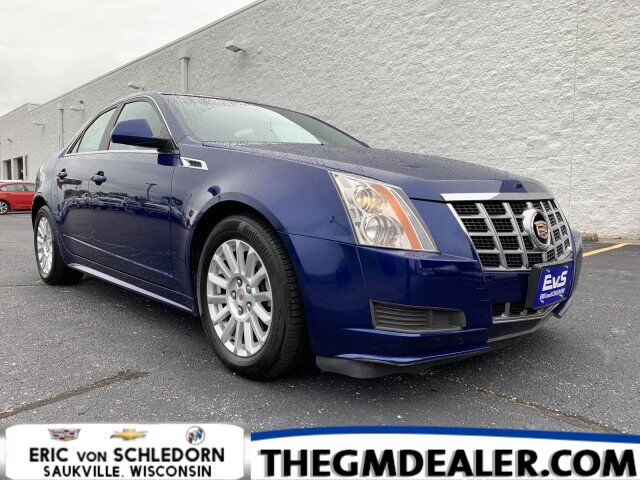 2013 Cadillac CTS Sedan Luxury AWD w/HtdMemLthr ISRV-MirrorRearCamera Milwaukee WI