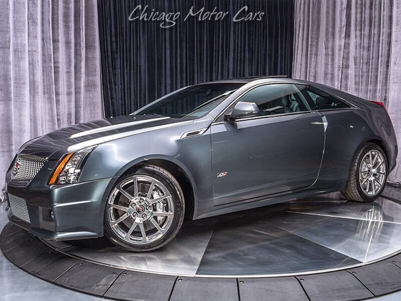 2013_Cadillac_CTS-V Coupe__ Chicago IL