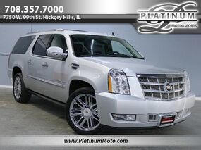 Cadillac Escalade ESV Platinum Edition 2 Owner TV's Roof Fully Loaded 2013