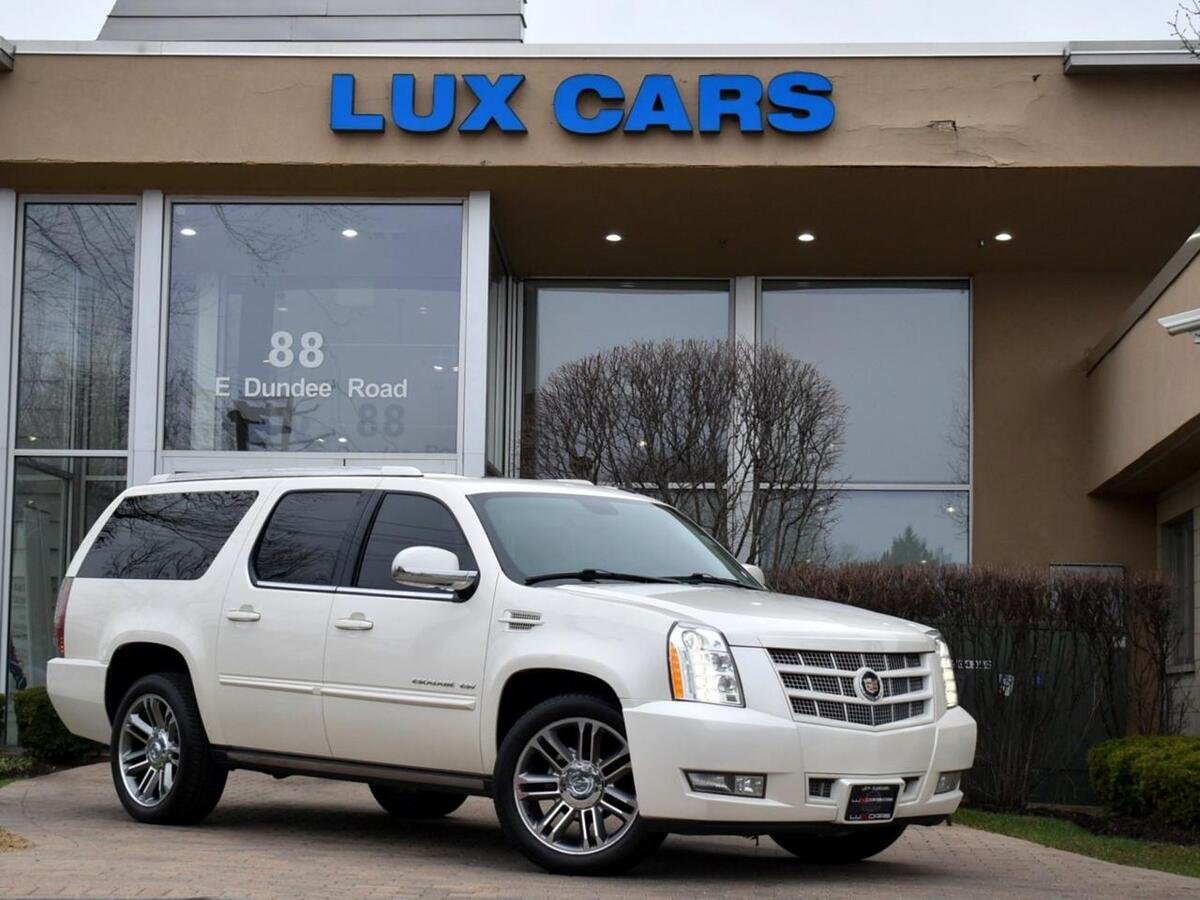 2013_Cadillac_Escalade ESV_Premium Nav Rear DVD AWD MSRP $81,875_ Buffalo Grove IL