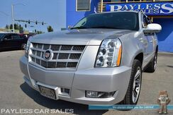 2013_Cadillac_Escalade_Premium / AWD / 6.2L V8 / Heated & Ventilated Power Leather Seats / Heated Steering Wheel / Auto Start / Navigation / Sunroof / Bose Speakers / Blind Spot Alert / Rear Captain Chairs / 3rd Row / Seats 7 / Back Up Camera / Tow Pkg_ Anchorage AK