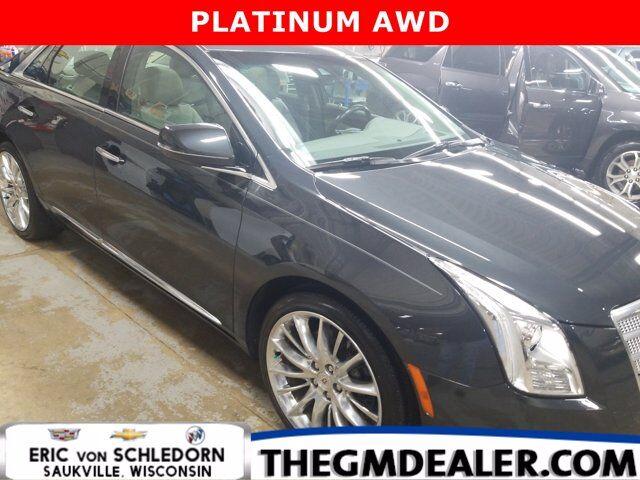 2013 Cadillac XTS Platinum AWD w/Sunroof Nav HtdCldMemLthr CUE RearCamera Milwaukee WI