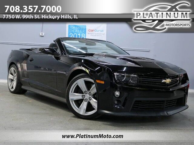 2013 Chevrolet Camaro ZL1 Convertible Nav Heads Up Back Up Camera Auto Exhaust Hickory Hills IL