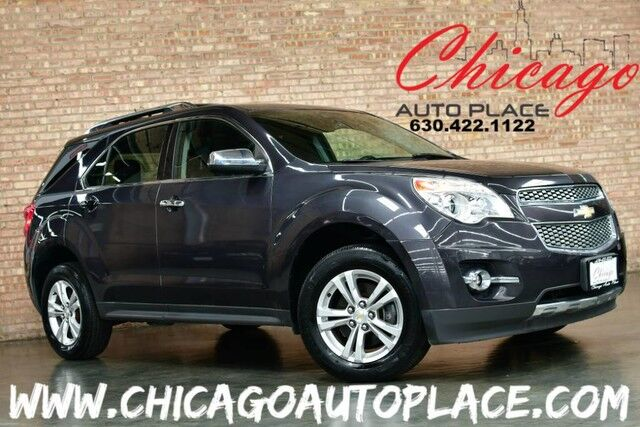 2013 Chevrolet Equinox AWD LTZ - 3.6L V6 ENGINE BLACK LEATHER HEATED SEATS BACKUP CAMERA PIONEER AUDIO SUNROOF POWER LIFTGATE Bensenville IL