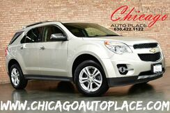 2013_Chevrolet_Equinox_LTZ - 2.4L 4-CYL SIDI ENGINE 1 OWNER FRONT WHEEL DRIVE NAVIGATION BACKUP CAMERA BROWN LEATHER SUNROOF PIONEER AUDIO POWER LIFTGATE BLUETOOTH_ Bensenville IL