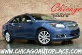 2013 Chevrolet Malibu LTZ - 2.5L 4-CYL SIDI ENGINE 1 OWNER FRONT WHEEL DRIVE NAVIGATION BACKUP CAMERA KEYLESS GO BLACK LEATHER HEATED SEATS PIONEER AUDIO DUAL ZONE CLIMATE