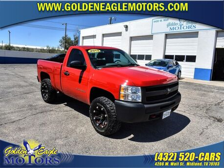 2013_Chevrolet_Silverado 1500_2WD REG CAB 119.0 WORK TRUCK_ Midland TX