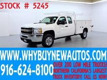 2013 Chevrolet Silverado 2500HD ~ Extended Cab ~ Top Boxes ~ Utility ~ Only 57K Miles! Rocklin CA