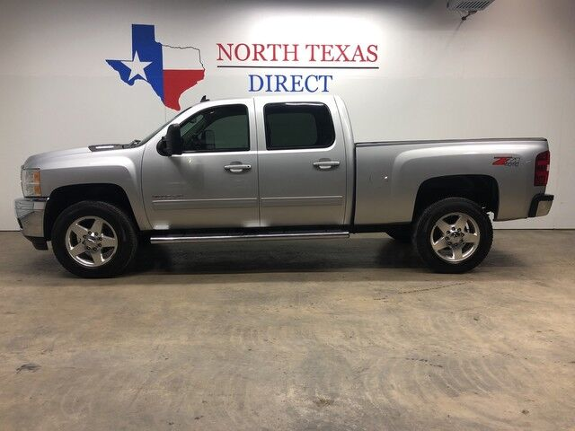 2013 Chevrolet Silverado 2500HD LTZ 4WD Diesel GPS Navi Camera Heated Cool Leather Lift Wheels Mansfield TX