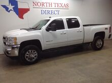 2013_Chevrolet_Silverado 2500HD_LTZ 4x4 Diesel Crew Short Bed Leather Bluetooth Park Assist_ Mansfield TX