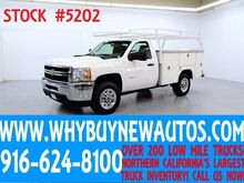 2013 Chevrolet Silverado 3500HD ~ 4x4 ~ Top Boxes ~ Utility ~ Only 67K Miles! Rocklin CA