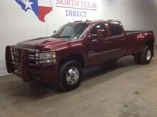 2013_Chevrolet_Silverado 3500HD_FREE DELIVERY LT2 4x4 Diesel Dually Camera Ranch Hand Leather_ Mansfield TX