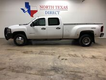 2013_Chevrolet_Silverado 3500HD_LS 4x4 Diesel DRW Crew Ranch Hand Alloy Wheels Allison_ Mansfield TX
