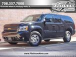 2013 Chevrolet Suburban LT 4WD Dual Row TV's Heated Leather