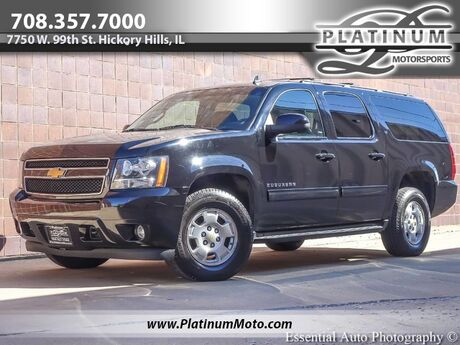 2013 Chevrolet Suburban LT 4WD Dual Row TV's Heated Leather Hickory Hills IL