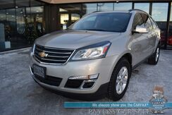 2013_Chevrolet_Traverse_LT / Auto Start / Power Driver's Seat / Bluetooth / Back Up Camera / 3rd Row / Seats 8 / 24 MPG_ Anchorage AK