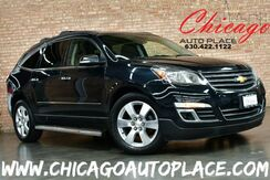 2013_Chevrolet_Traverse_LTZ - 3.6L V6 ENGINE ALL WHEEL DRIVE 1 OWNER NAVIGATION BACKUP CAMERA BLACK LEATHER HEATED/COOLED SEATS PANO ROOF REAR TV/DVD 3RD ROW_ Bensenville IL