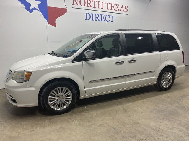 2013 Chrysler Town & Country FREE HOME DELIVERY Touring-L Gps Navi Camera Tv Dvd Mansfield TX