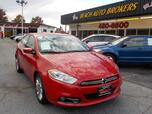 2013 DODGE DART LIMITED,BUYBACK GUARANTEE, WARRANTY, LEATHER, NAV, BLUETOOTH, BACKUP CAM, REMOTE START, 56K MILES!