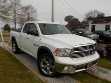 2013_DODGE_RAM_1500 BIG HORN QUAD CAB 4X4, WARRANTY, REMOTE START, BACKUP CAM, POWER DRIVERS SEAT, TOW PKG,  A/C!!!_ Norfolk VA