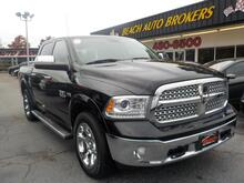 2013_DODGE_RAM_1500 LARAMIE 4X4, BUYBACK GUARANTEE, WARRANTY, LEATHER, NAV, SUNROOF, TOW PKG, 1 OWNER, RAMBOXES!!!_ Norfolk VA