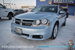 2013_Dodge_Avenger_SXT / Automatic / Auto Start / Power & Heated Seats / Bluetooth / Cruise Control / Power Mirrors Windows & Locks / USB & AUX Jack / Chrome Wheels / Rear Spoiler / 31 MPG / Only 44K Miles_ Anchorage AK