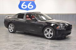 2013_Dodge_Charger_5.7L V8 HEMI! RT MAX!! BLACKED OUT! LIMITED EDT RED LEATHER!! CHROME WHEELS! SUNROOF! BEATS BY DRE!!! LIKE NEW!_ Norman OK