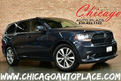2013_Dodge_Durango_R/T - 5.7L V8 VVT HEMI ENGINE ALL WHEEL DRIVE NAVIGATION BACKUP CAMERA KEYLESS GO BLACK LEATHER HEATED/COOLED SEATS 3RD ROW SUNROOF_ Bensenville IL