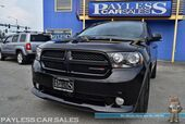 2013 Dodge Durango R/T / AWD / 5.7L HEMI V8 / Tech Pkg / Heated & Ventilated Leather Seats / Heated Steering Wheel / Sunroof / Navigation / Alpine Speakers / Auto Start / Bluetooth / Back Up Camera / 3rd Row / Seats 7 / Adaptive Cruise / Blind Spot Alert & Collision Al