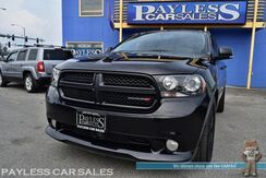 2013_Dodge_Durango_R/T / AWD / 5.7L HEMI V8 / Tech Pkg / Heated & Ventilated Leather Seats / Heated Steering Wheel / Sunroof / Navigation / Alpine Speakers / Auto Start / Bluetooth / Back Up Camera / 3rd Row / Seats 7 / Adaptive Cruise / Blind Spot Alert & Collision Al_ Anchorage AK