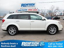 2013_Dodge_Journey_AWD R/T, Rear DVD Entertainment, Navigation, Sunroof, Remote Start, Heated Leather, Bluetooth, SiriusXM_ Calgary AB