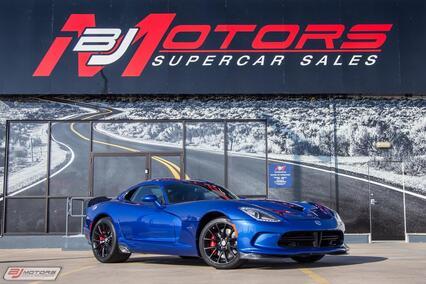 2013 Dodge Viper GTS Blue TA 1.0 Aero Tomball TX