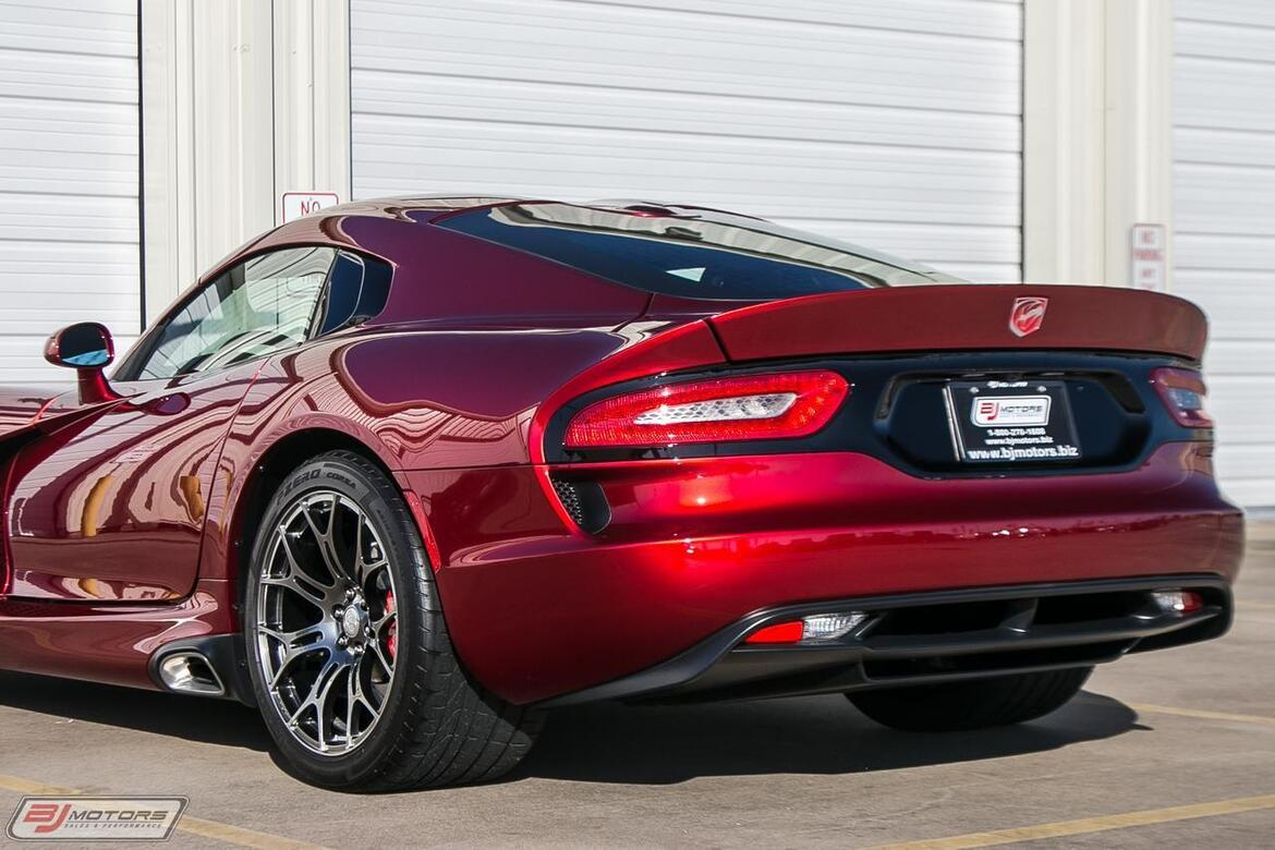2013 Dodge Viper Stryker Red GTS Tomball TX