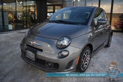 2013_FIAT_500_Turbo / 5-Spd Manual / Power Locks & Windows / Aux Jack / Cruise Control / 34 MPG / Only 46k Miles_ Anchorage AK