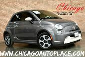 2013 FIAT 500e BATTERY ELECTRIC - FRONT WHEEL DRIVE WHITE LEATHER W/ ORANGE ACCENTS HEATED SEATS BLUETOOTH TINTED GLASS
