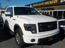 2013_FORD_F-150_FX4 4X4, BUYBACK GUARANTEE, WARRANTY, LEATHER, OFF ROAD PKG, HEATED SEATS, SATELLITE RADIO, SWEET!!!_ Norfolk VA