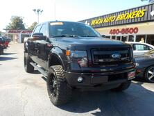 FORD F-150 FX4 CREWCAB 4X4, BUYBACK GUARANTEE, WARRANTY, LIFTED, BACKUP CAM, SATELLITE RADIO, 22