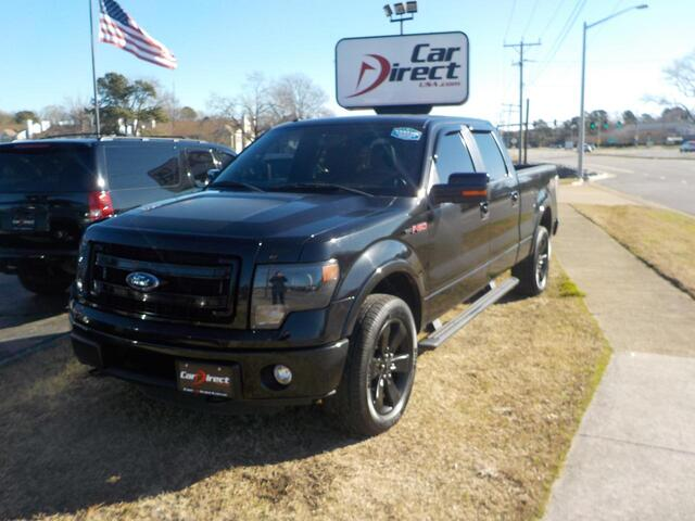 2013 FORD F-150 FX4 OFF-ROAD 4X4, BUY BACK GUARANTEE AND WARRANTY, NAV, SONY SOUND, REMOTE START, ONLY 94K MILES!! Virginia Beach VA