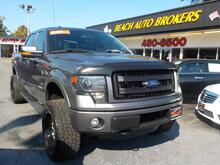 2013_FORD_F-150_FX4 OFF ROAD 4X4,BUYBACK GUARANTEE, WARRANTY, LEATHER, TOW PKG, BACKUP CAM, REMOTE START, SUNROOF!_ Norfolk VA