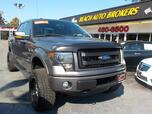 2013 FORD F-150 FX4 OFF ROAD SUPER CREW 4X4,BUYBACK GUARANTEE, WARRANTY, LEATHER, TOW PKG, BACKUP CAM, REMOTE START!