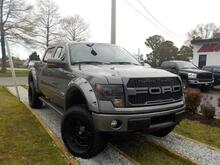 2013_FORD_F-150_FX4 OFF ROAD SUPERCREW 4X4, WARRANTY, LIFTED, LEATHER, NAV,  HEATED/COOLED SEATS, SUNROOF, TOW PKG!!_ Norfolk VA