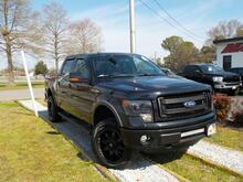 2013_FORD_F-150_FX4 SUPER CREW 4X4, WARRANTY, LEATHER, SUNROOF, NAV, HEATED/COOLED SEATS, BACKUP CAM,RUNNING BOARDS!_ Norfolk VA