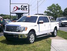 FORD F-150 LARIAT SUPER CREW 4X4, AUTOCHECK CERTIFIED, BACK UP CAM, RUNNING BOARDS, TOW PKG, ONLY 39K MI! 2013