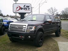 FORD F-150 PLATINUM 4X4, CARFAX CERTIFIED, **ONE OWNER**, ONLY 50K MILES, NAVI, BACK-UP CAM, LOADED, BEAUTIFUL! 2013